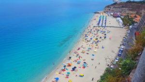Tropea spiaggia le Roccette