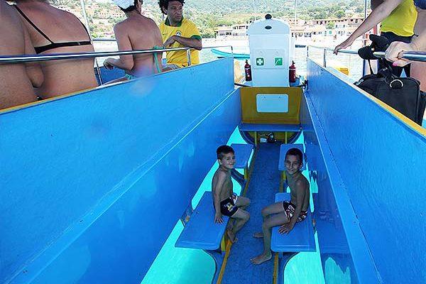 Calipso Visore Sottomarino interno