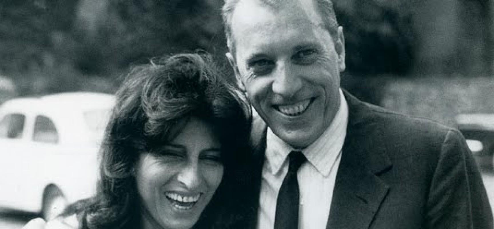 Giuseppe Berto insieme ad Anna Magnani
